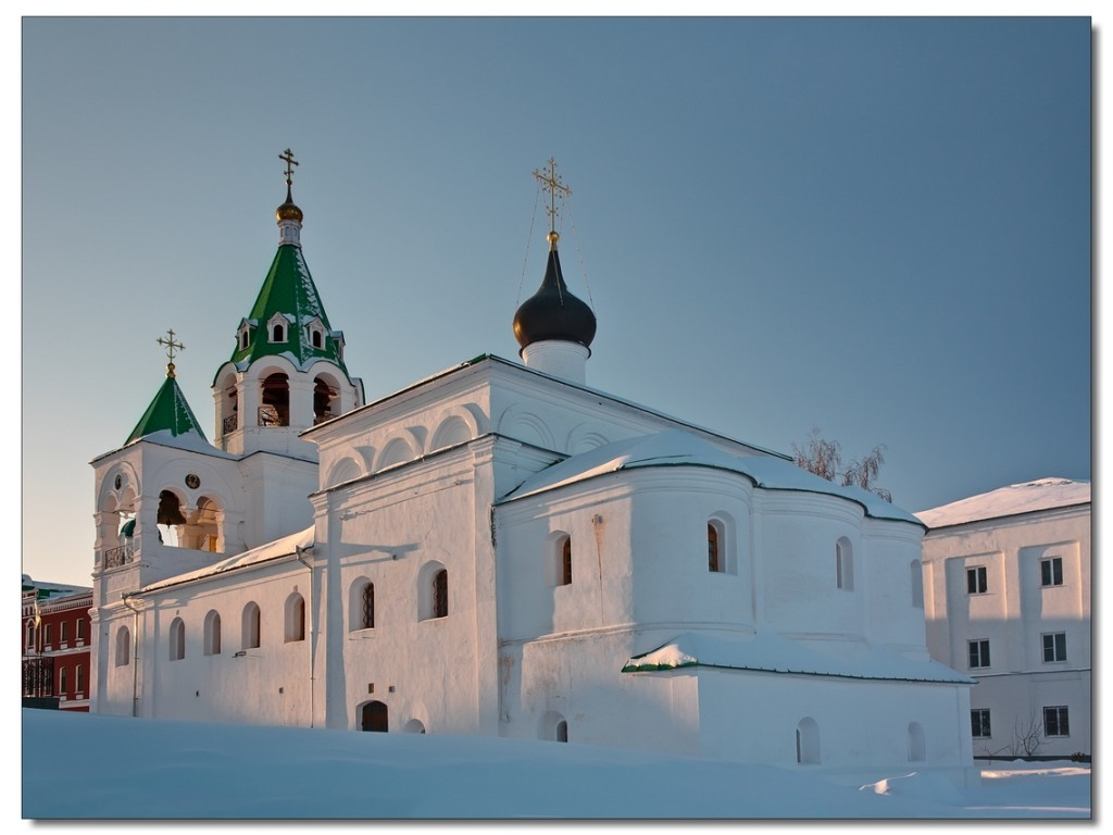Покровская церковь. Фотограф - Вячеслав Заикин