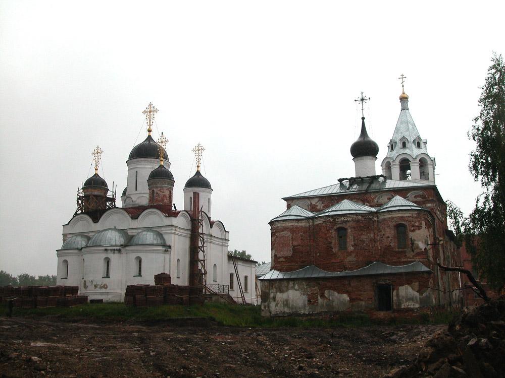 Работы по восстановлению Спасо-Преображенского Монастыря