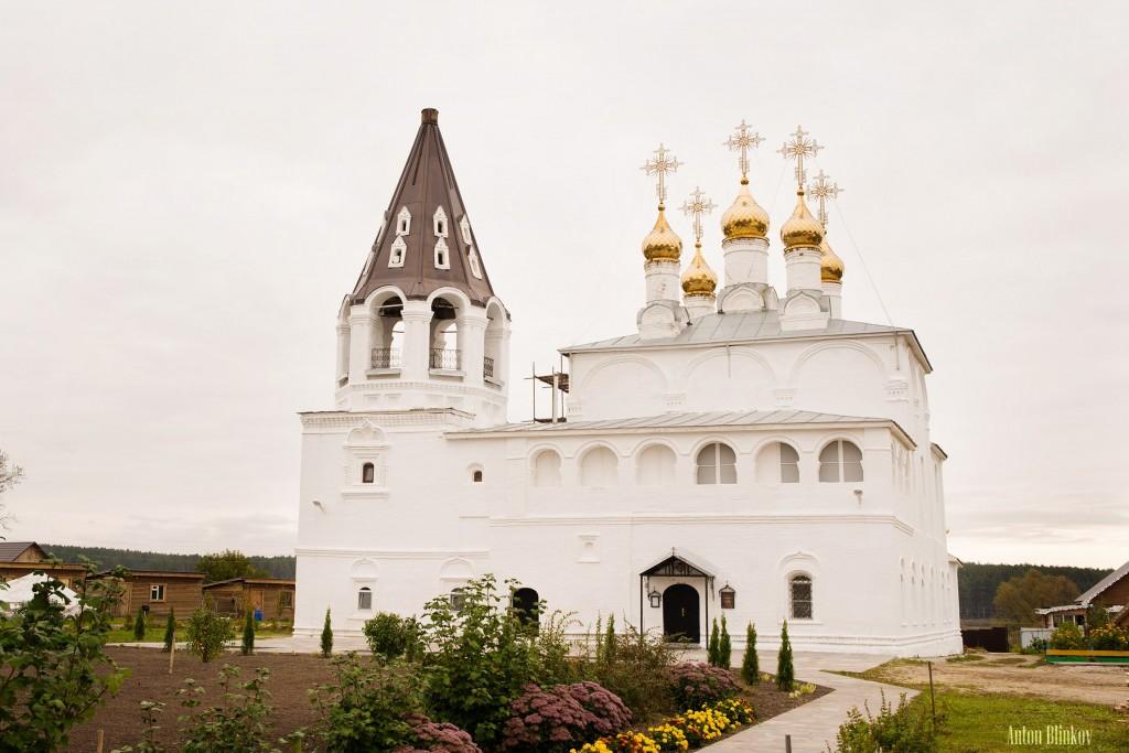 Борисоглеб, Муромский р-н. Церковь Рождества Христова. Год постройки между: приблизительно 1630 и приблизительно 1660. Автор фото: Антон Блинков