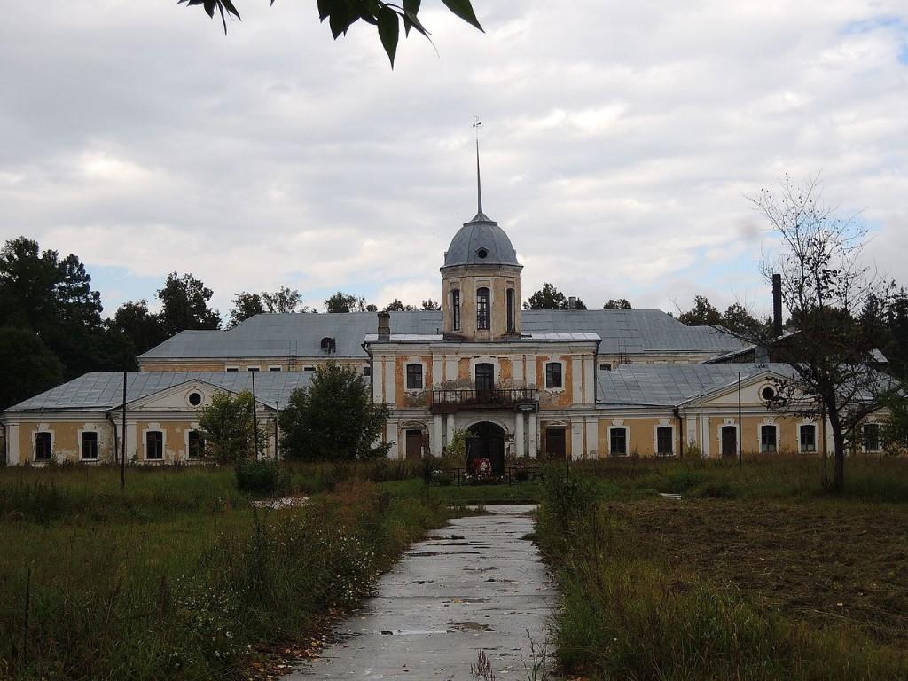 Дворец графа Воронцова в селе Андреевское 18 век. Фото из Википедии