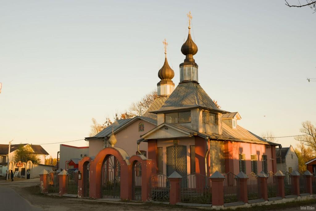 Церковь Богоматери Достойно Есть, п. им. Воровского, Судогодский р-н. Автор фото: Антон Блинков