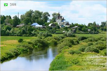 Борисоглеб - панорама