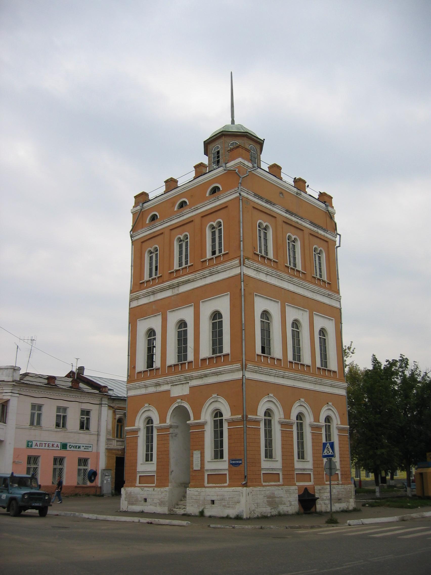 Водонапорная башня города Мурома