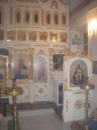 Богородице-Рождественская церковь - Внутреннее убранство