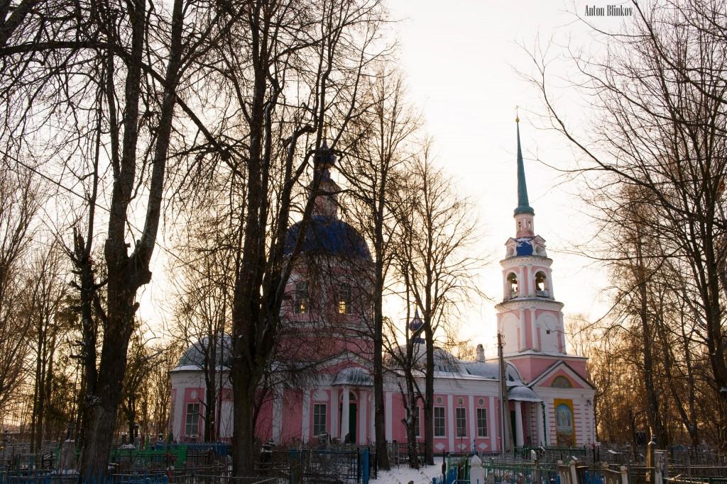 Никологоры. Церковь Спаса Преображения с колокольней Автор фото: Антон Блинков