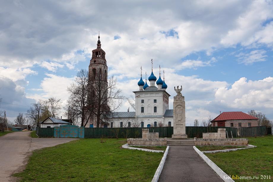 Церковь Покрова Пресвятой Богородицы в с. Клязьминский Городок