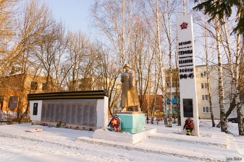 п. Октябрьский, Вязниковский р-н. Автор: Антон Блинков