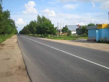Автотрасса через с. Ковардицы