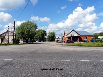 Село Малышево Селивановского района. Центр