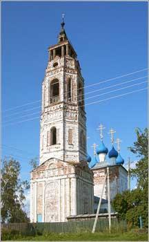 Покровская церковь с колокольней