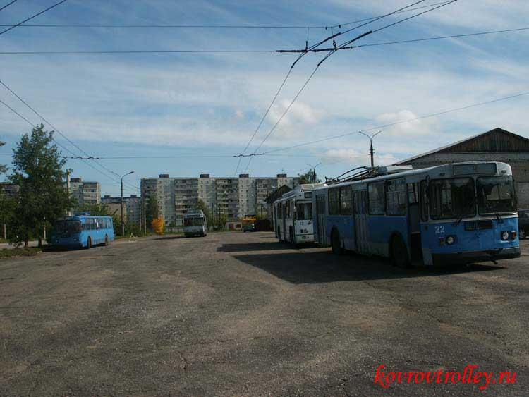 Троллейбусная система в городе Ковров Владимирской области