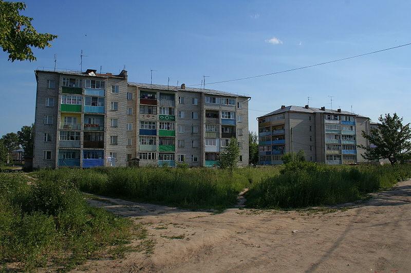 Костерево - жилые дома