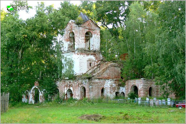 Церковь Иоанна Богослова - Вид с юго-запада