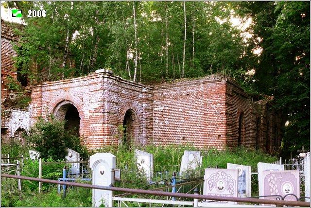 Церковь Иоанна Богослова - Южный придел со своим отдельным западным входом. Вид с юго-запада