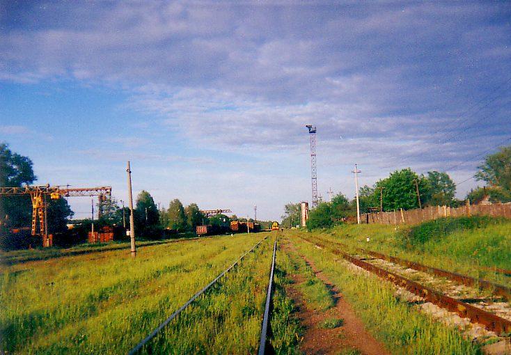 Путь к станции Нерудная