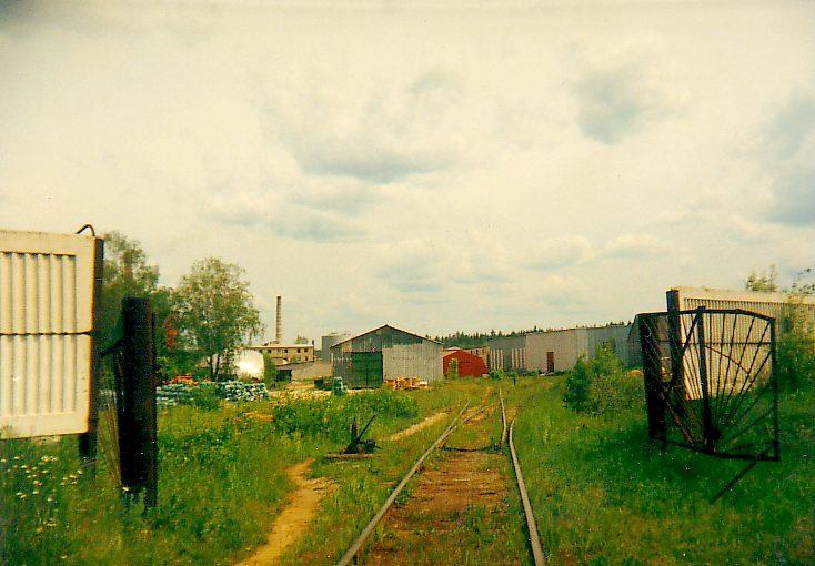 Подъездной путь к стекольному заводу Богатырь (пос. Красный Богатырь)ё