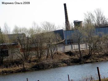 Закрытый завод в поселке Красный Куст