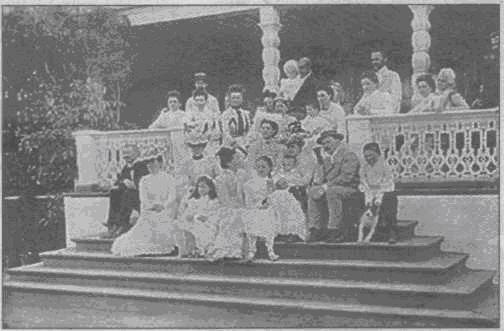 Усадьба в поселке Сушнево - Старинная фотография