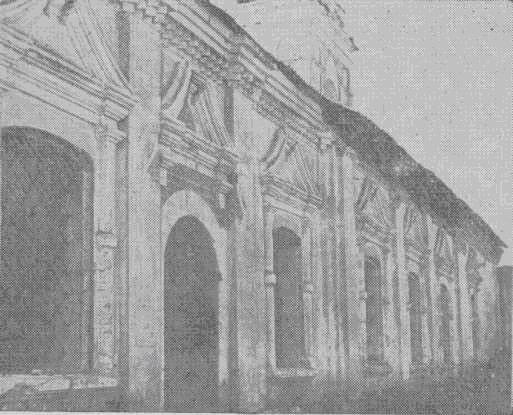 Никольская церковь в с. Панфилово. Северный фасад