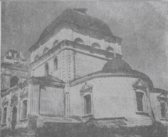 Никольская церковь в с. Панфилово