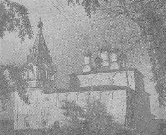 Рождественская церковь в селе Борисоглеб