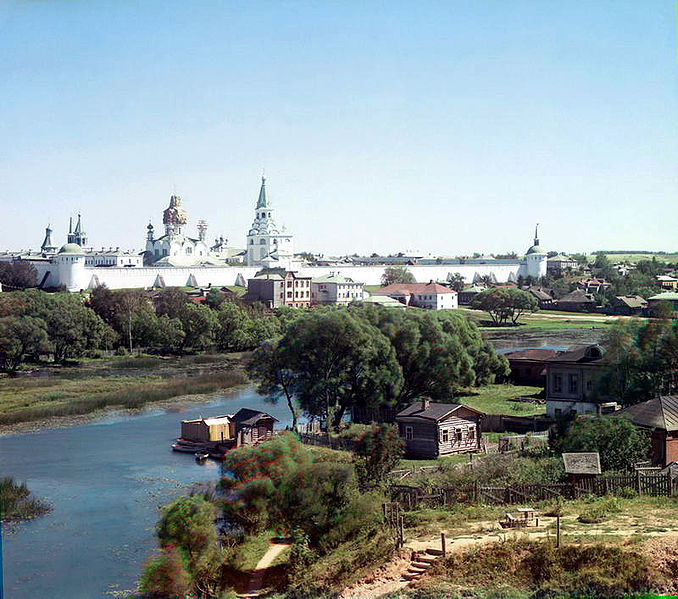 в городе Александров.