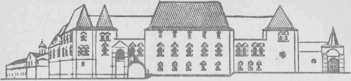 Архирейские палаты в Суздале. Реконструкция А. Варганова