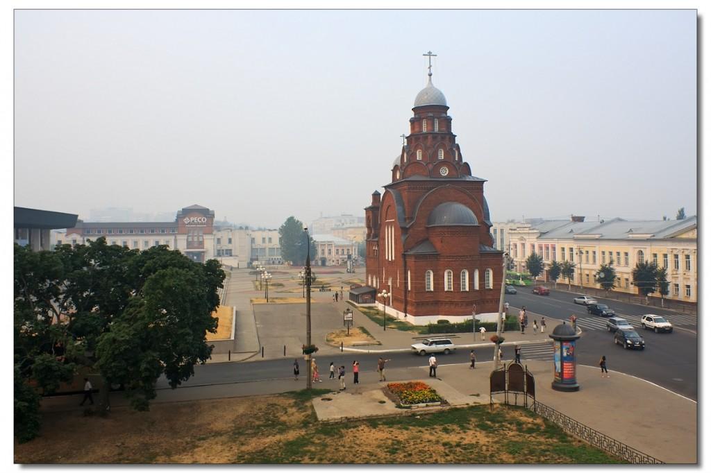 Владимир. Троицкая старообрядческая церковь. Ныне музей хрусталя.