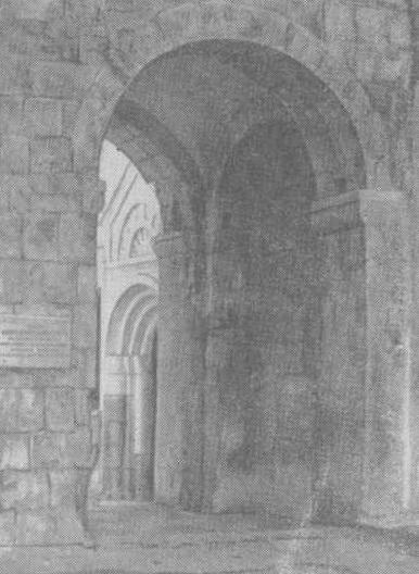 Вход во дворец, где был убит Андрей Боголюбский
