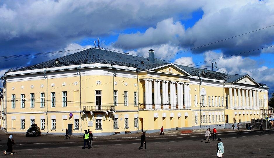 Дворянское собрание во Владимире. Дом офицеров