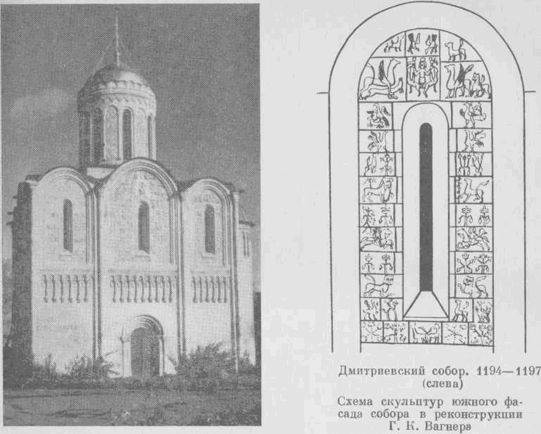 Дмитриевский собор в городе Владимире