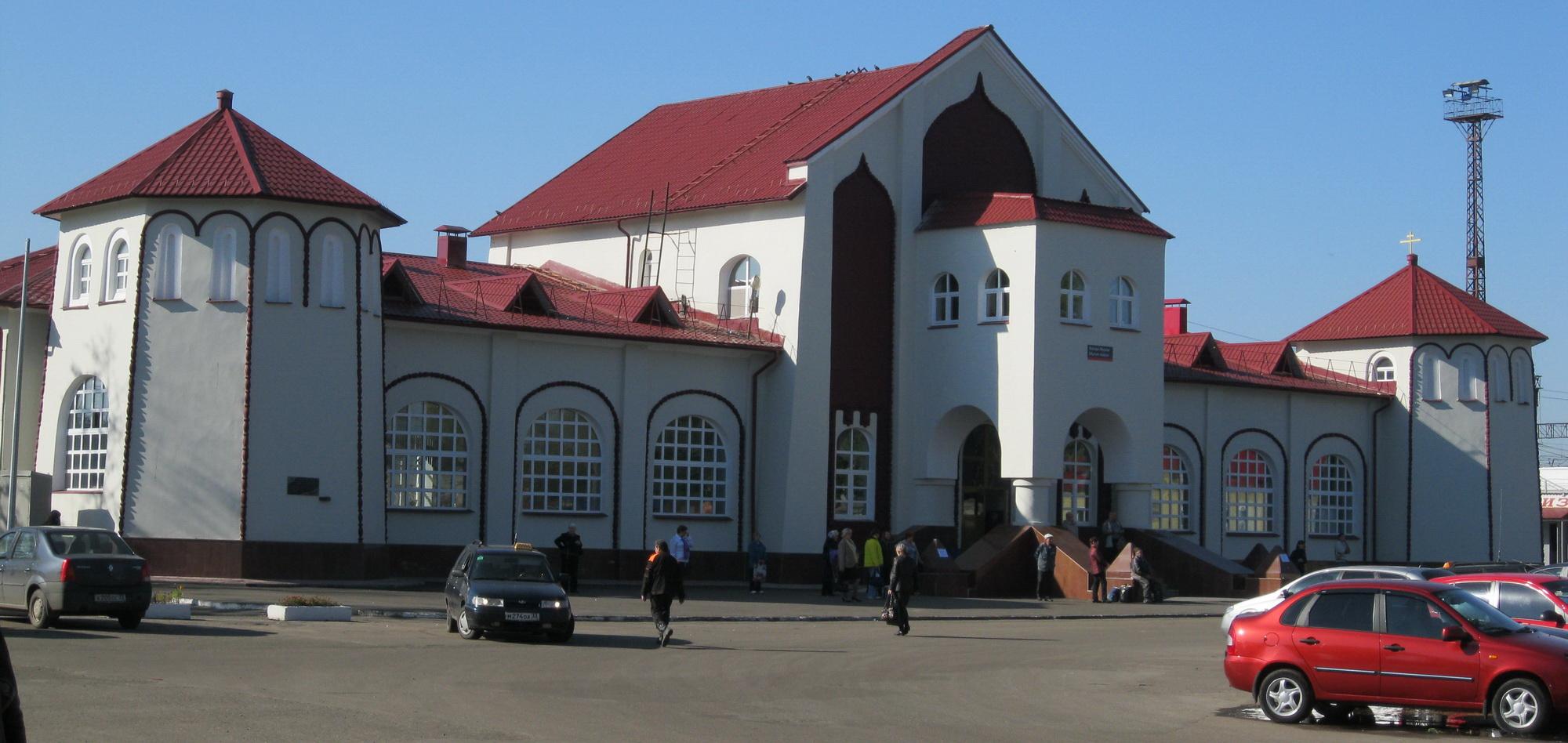 Железнодорожный вокзал в Муроме - памятник архитектуры.