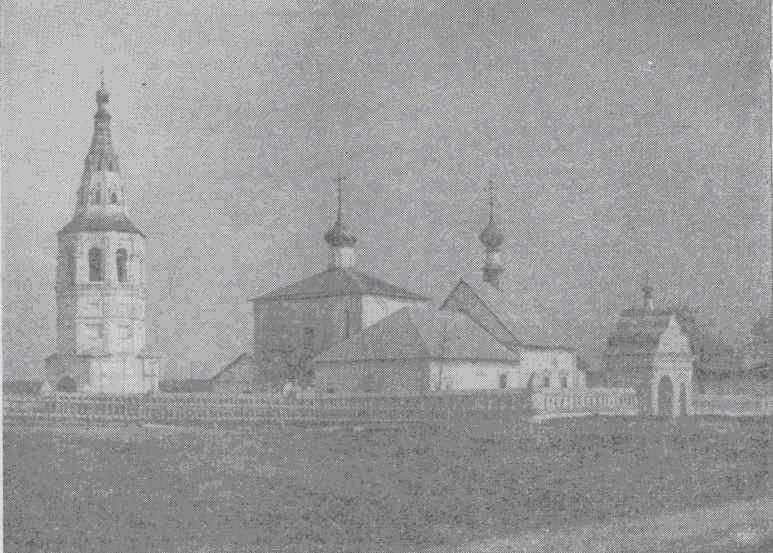 Кидекша, бывшая резиденция Юрия Долгорукого