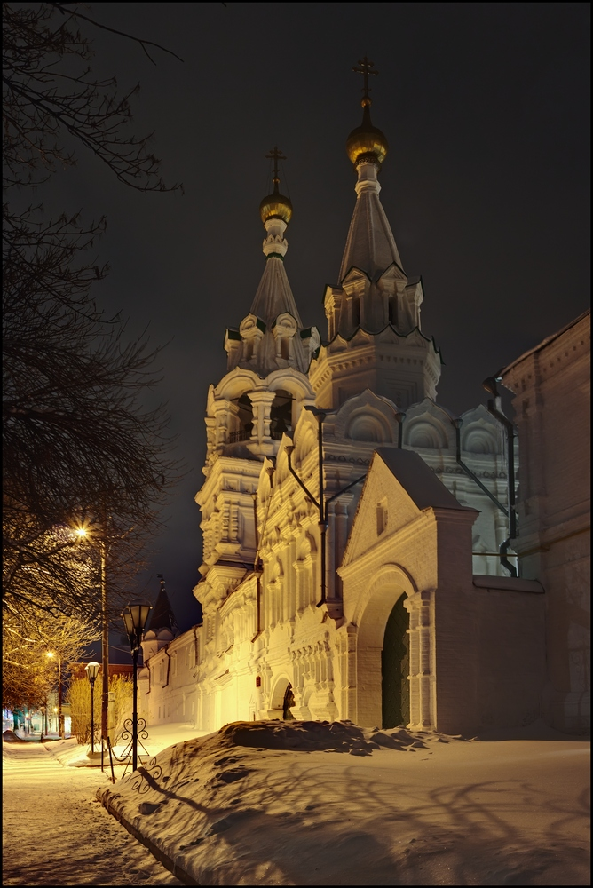 Муромский Троицкий монастырь. Надвратная Казанская церковь