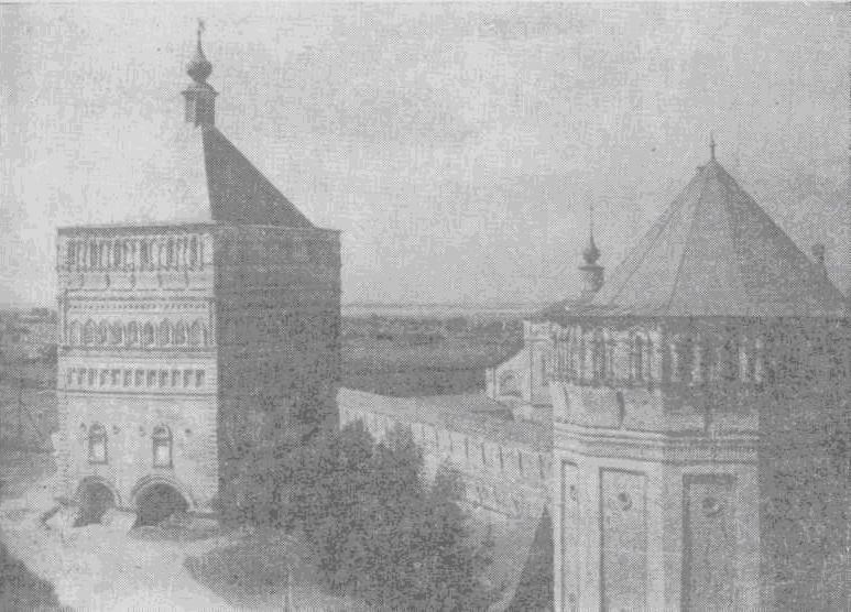 Проездная башня Спасо-Евфимиева монастыря