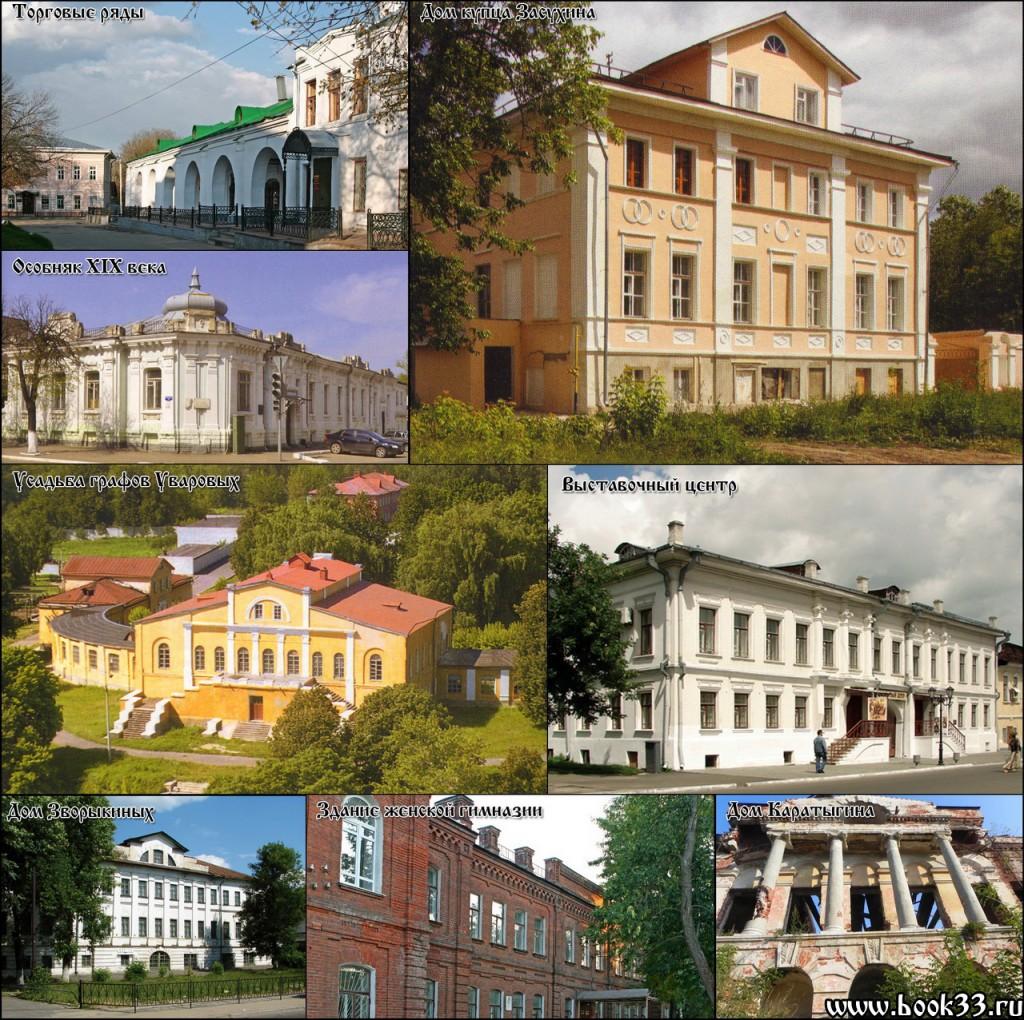 Усадьбы и гражданская архитектура в Муроме_