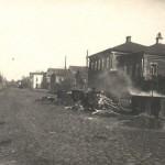 Асфальтирование тротуара по Ивановской улицы 1933 год ((Юрьев-Польский)