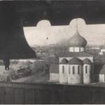 Вид на Георгиевский собор с колокольни (Юрьев-Польский)