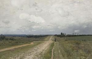 Владимирка - Картина художника Исаака Левитана