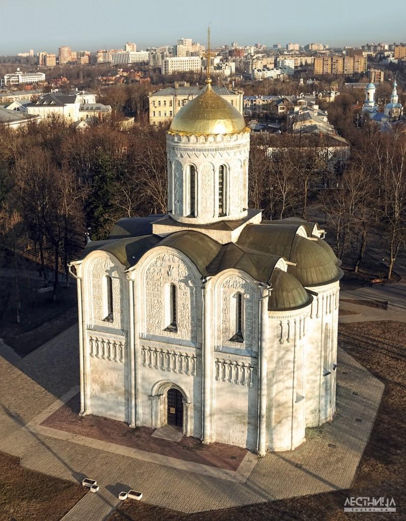 Владимир. Дмитриевский собор с высоты