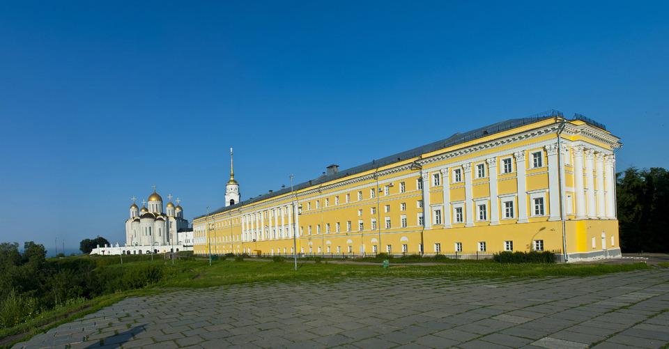 Владимир. Успенский собор и здание присутственных мест