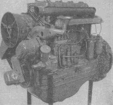 Двигатель Д-37Е производства влади¬мирского тракторного завода им. А..А. Жданова