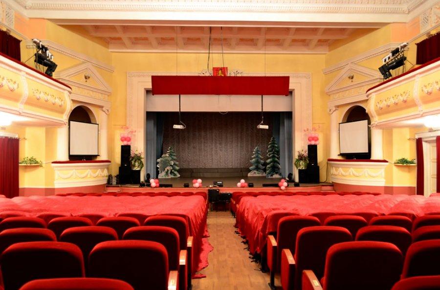 Дом культуры молодежи во Владимире - зал