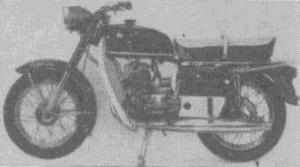 Дорожный мотоцикл «еосход-2»