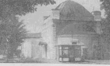 Здание бывш. церкви, в которой венчался А. И. Герцен во Владимире. Здание не сохранилось, фотоснимок сделан в 1968 году
