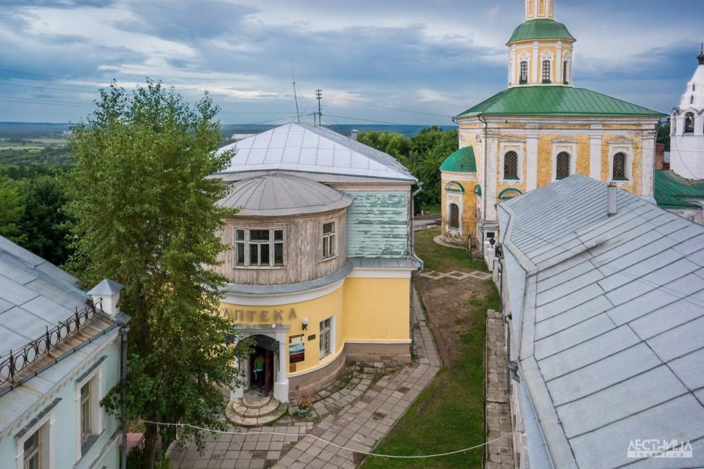 Здание старой аптеки во Владимире
