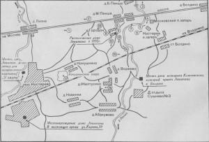 Карта мест Владимирской области где рисовал И. Левитан