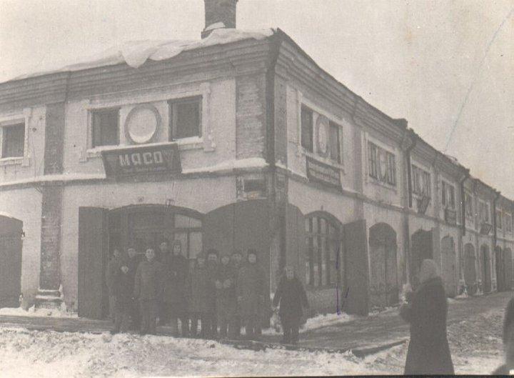 Мясной магазин в торговых рядах  (Юрьев-Польский)
