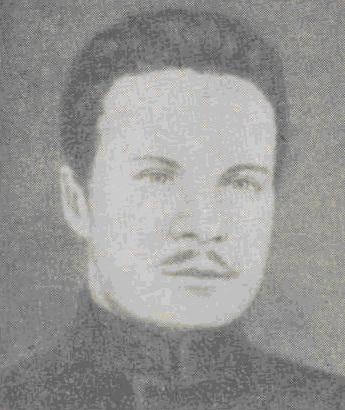 М. В. Фрунзе (с фотографии, сделанной в тюрьме после объявления смертного приговора. 1909 г.)
