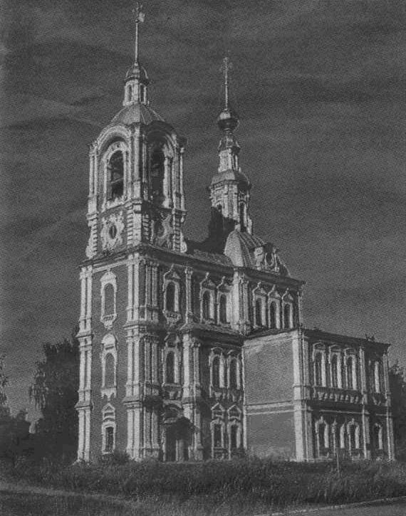 Никитская церковь во Владимире. В 2013 году ей исполнилось 250 лет.